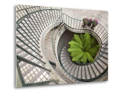 Spiral Staircase at the Embarcadero Center in Downtown San Francisco, California, USA