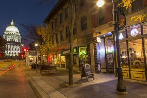 State Street in Downtown Madison, Wisconsin, USA by Chuck Haney