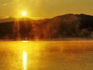 Sunrise Over Lake Dillon, Colorado, USA by Chuck Haney