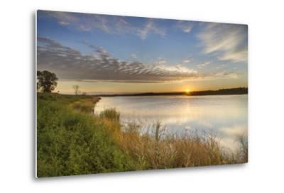 Sunrise over Wetlands at Arrowwood NWR, North Dakota, USA