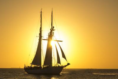 Sunset Cruise Schooner in Key West Florida, USA