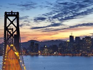 The Bay Bridge from Treasure Island in San Francisco, California, USA by Chuck Haney
