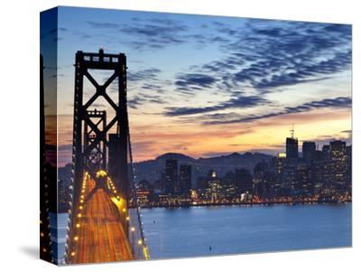 The Bay Bridge from Treasure Island in San Francisco, California, USA
