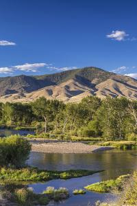 The Big Hole River Near Glen, Montana, USA by Chuck Haney