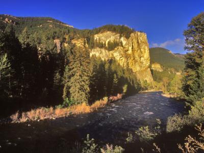 The Gallatin River Near Bozeman, Montana, USA by Chuck Haney