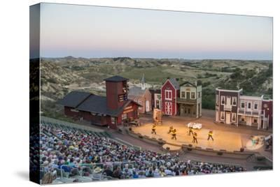 The Medora Musical Theatre in Medora, North Dakota, USA