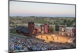 The Medora Musical Theatre in Medora, North Dakota, USA by Chuck Haney