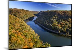 The New River Gorge, Hawks Nest State Park, Autumn, West Virginia, USA by Chuck Haney