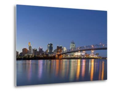 The Skyline of Cincinnati, Ohio, Usa