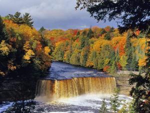 Upper Tahquamenon Falls, Michigan, USA by Chuck Haney