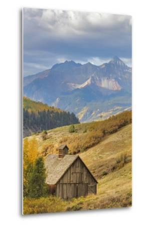 Weathered Wooden Barn Near Telluride in the Uncompahgre National Forest, Colorado, Usa