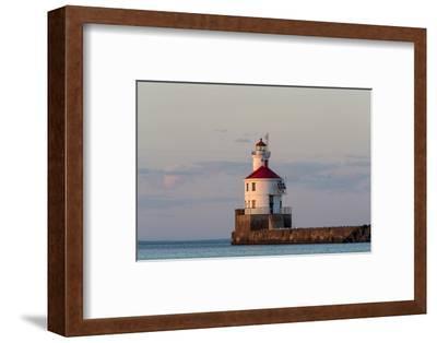 Wisconsin Point Lighthouse Near Superior, Wisconsin, USA