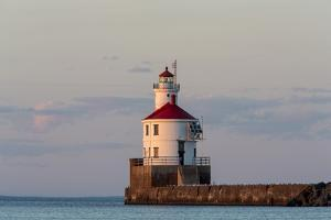 Wisconsin Point Lighthouse Near Superior, Wisconsin, USA by Chuck Haney