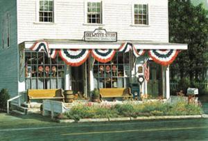 Brewster Store by Chuck Huddleston
