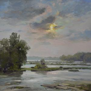 James River from Belle Isle II by Chuck Larivey