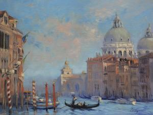 Venice Grand Canal by Chuck Larivey