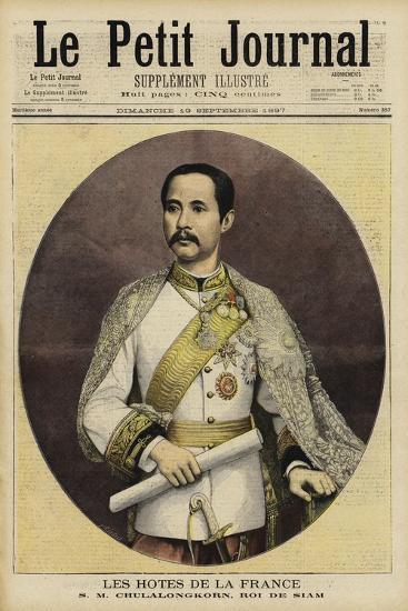Chulalongkorn, King of Siam--Giclee Print