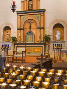 Church Altar in Mission Basilica San Diego De Alcala, San Diego, California