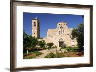 Church and Monastery, North Cyprus-Peter Thompson-Framed Photographic Print