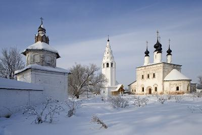 Church and the Bell Tower of the Ascension (1695) Within the Aleksandrovsky Monastery--Photographic Print