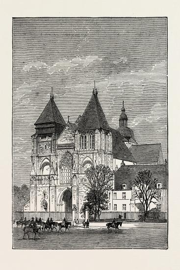Church at Le Mans, France, 1871--Giclee Print
