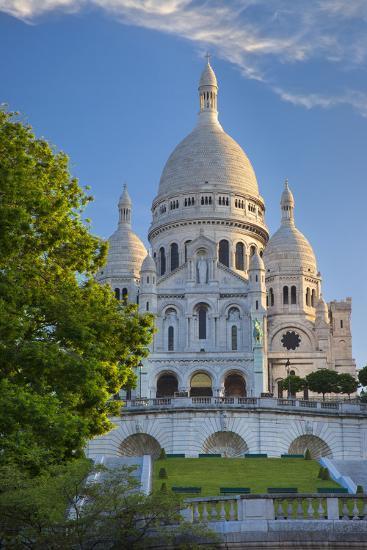 Church, Basilique Du Sacre Coeur, Montmartre, Paris, France-Brian Jannsen-Photographic Print