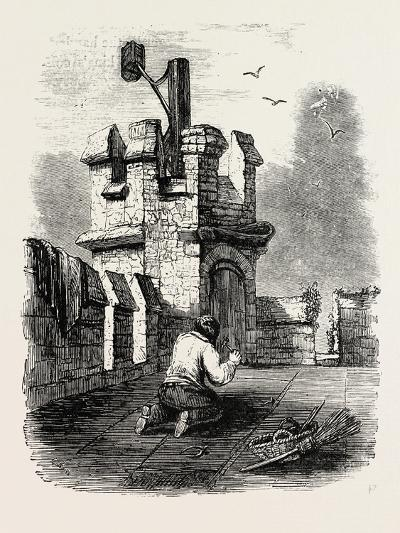 Church Beacon Near Barnet--Giclee Print