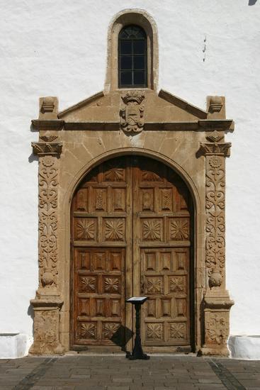 Church, Betancuria, Fuerteventura, Canary Islands-Peter Thompson-Photographic Print