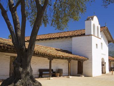 Church, El Presidio De Santa Barbara State Historic Park, Santa Barbara, California, United States -Richard Cummins-Photographic Print