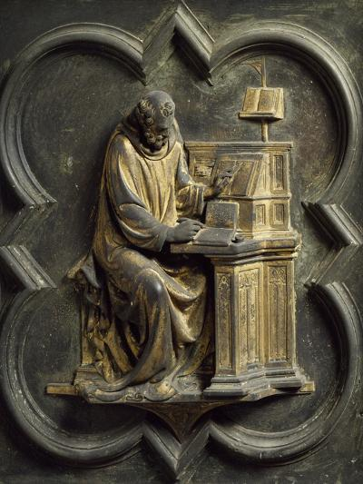 Church Father, Bronze Panel-Lorenzo Ghiberti-Giclee Print