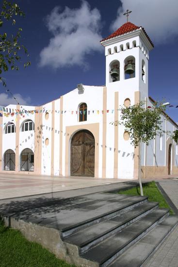 Church, Gran Tarajal, Fuerteventura, Canary Islands-Peter Thompson-Photographic Print