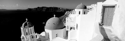 Church in a City, Santorini, Cyclades Islands, Greece--Photographic Print
