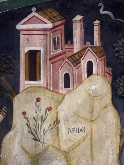 Church in Affile, Detail from Stories of Saint Benedict--Giclee Print