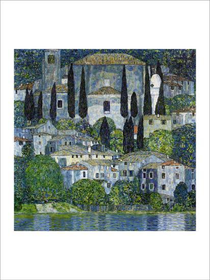 Church in Cassone-Gustav Klimt-Giclee Print