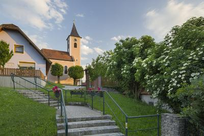 Church in Siegenfeld, Lower Austria, Austria-Rainer Mirau-Photographic Print