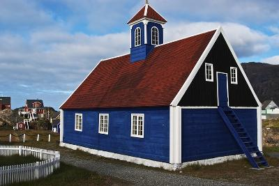 Church in Sisimiut, Qeqqata, Greenland, Overseas Territory of Denmark--Giclee Print