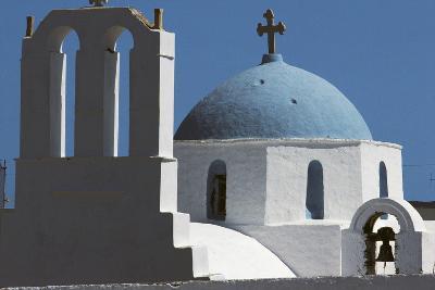 Church in Thira, Santorini Island, Cyclades, Greece--Giclee Print
