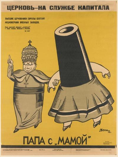 Church Is Working for the Capitalists-Viktor Nikolaevich Deni-Giclee Print