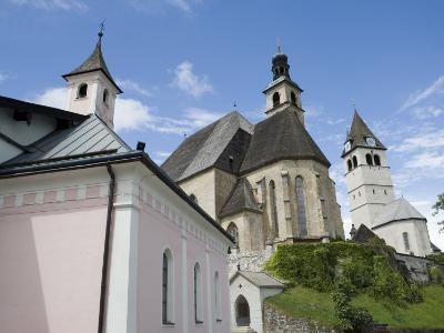 Church, Kitzbuhel, Austria, Europe-Martin Child-Photographic Print
