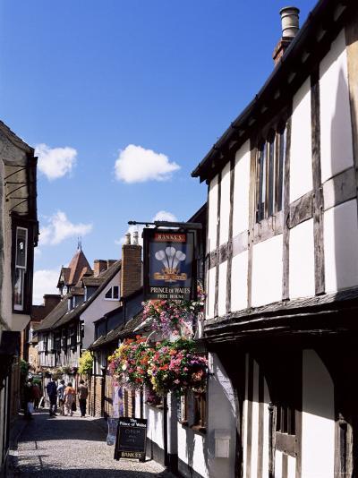 Church Lane, Ledbury, Herefordshire, England, United Kingdom-Jean Brooks-Photographic Print