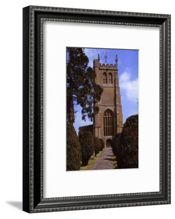 Church of All Saints, Martock, Somerset, 20th century-CM Dixon-Framed Photographic Print