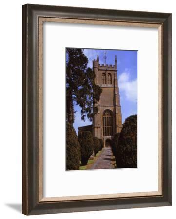 Church of All Saints, Martock, Somerset, 20th century-CM Dixon-Framed Photographic Print