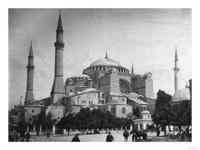Church of Hagia Sophia Photograph No.2 - Istanbul, Turkey-Lantern Press-Art Print