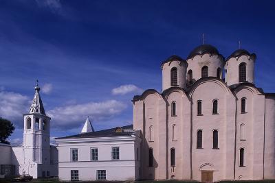 Church of Merchantile Trade District, or Torgovaja Storona--Photographic Print