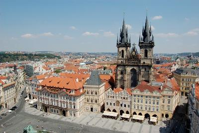 Church of Our Lady before Týn, Old Town Square, Prague, Czech Republic--Photographic Print