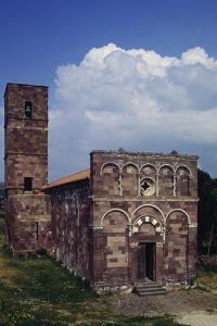 Church of Our Lady of Tergu, 12th Century, Pisan-Romanesque Style, Tergu, Sardinia, Italy