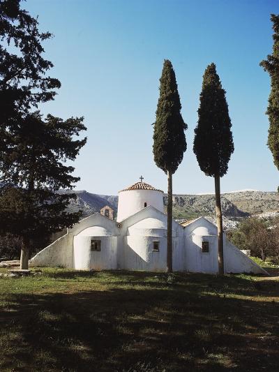 Church of Panagia Kera Near Kritsa, Crete Island, Greece, 14th Century--Photographic Print