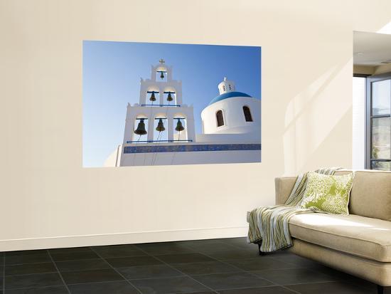 Church of Panagia of Platsani, Oia (La), Santorini (Thira), Cyclades Islands, Greece-Gavin Hellier-Wall Mural
