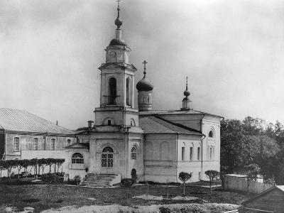Church of Sabbas the Sanctified, on the Maidens' Field, Moscow, Russia, 1882- Scherer Nabholz & Co-Photographic Print