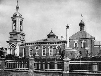 Church of Saint John the Forerunner, Presnya, Moscow, Russia, 1881- Scherer Nabholz & Co-Photographic Print